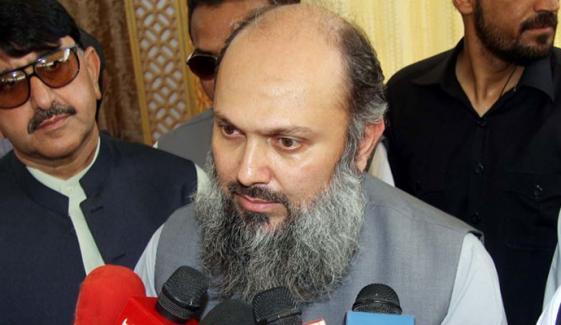 تمام شعبوں کی ترقی کیلئے اقدامات کیے جارہے ہیں، وزیراعلیٰ بلوچستان