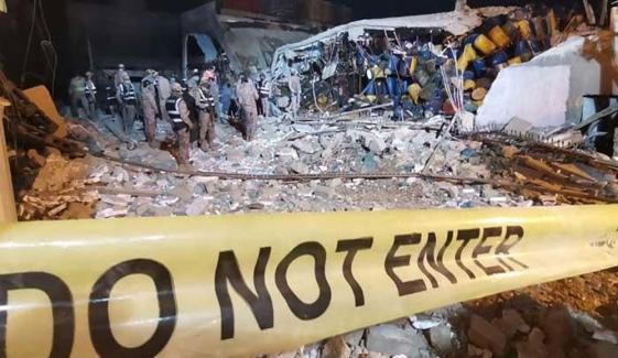 نیو کراچی: کولڈ اسٹوریج دھماکا، ہلاکتیں 9 ہوگئیں