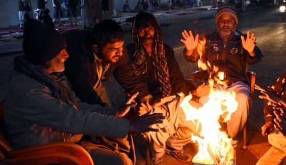 کراچی کے درجۂ حرارت میں پھر کمی