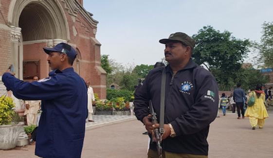لاہور میں قائدِاعظم ڈے، کرسمس پر سیکیورٹی پلان مرتب