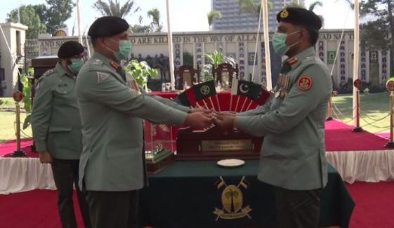 میجر جنرل افتخار حسن نے ڈی جی رینجرز سندھ کا چارج سنبھال لیا