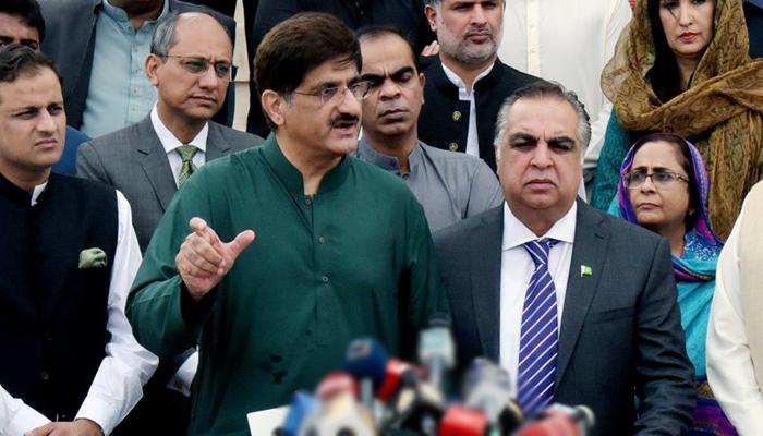 گورنر اور وزیر اعلیٰ سندھ کی مزار قائد پر حاضری
