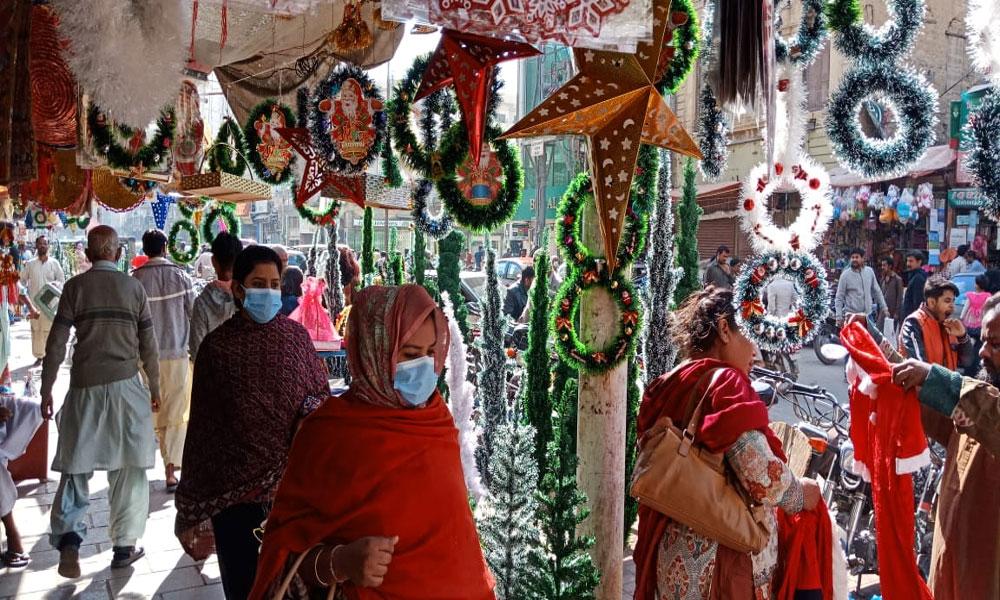 ملک میں کرسمس کی تقریبات و عبادات جاری