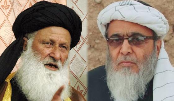 مولانا شیرانی، حافظ حسین احمد کو JUI F سے نکال دیا گیا