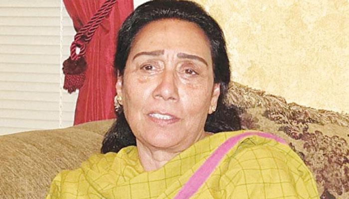 دسمبر 2007 میں گڑھی خدا بخش میں بینظیر کیساتھ تھی، ناہید خان