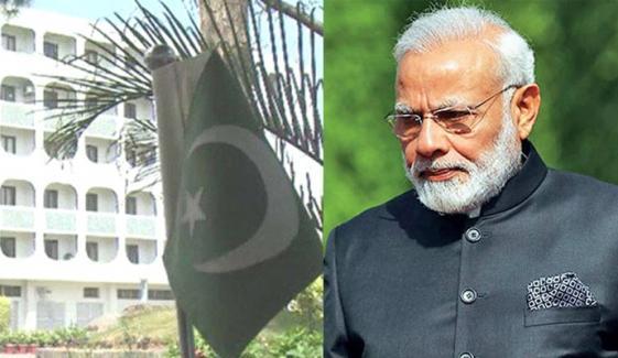 پاکستان نے بھارتی وزیراعظم کا مقبوضہ کشمیر میں جمہوریت کا دعویٰ مسترد کردیا