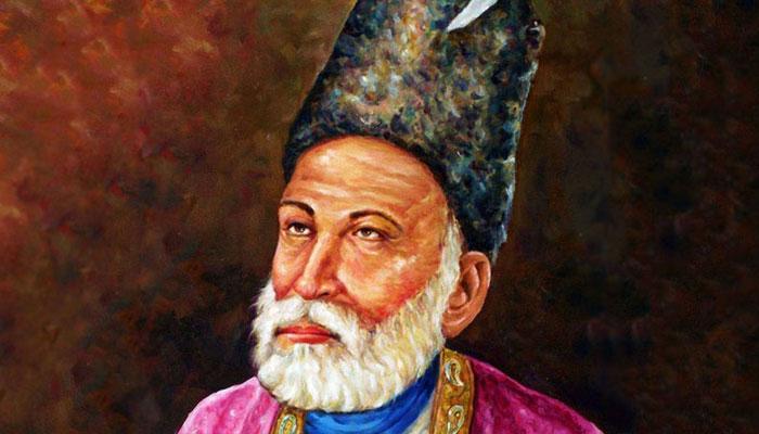 اردو کے عظیم شاعر مرزا غالب کی 223 ویں سالگرہ