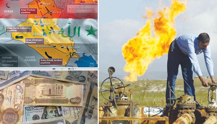 عراق نے تیل کی قیمت گرنے سے پانچویں بار کرنسی کی قدر میں کمی کی