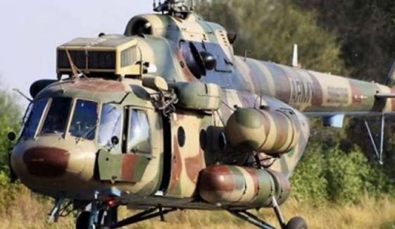 آرمی ایوی ایشن کے ہیلی کاپٹر کو حادثہ، پائلٹ سمیت 4 جوان شہید