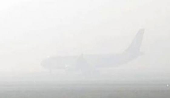 لاہور: شدید دھند سے 19 پروازیں منسوخ، 16 تاخیر کا شکار