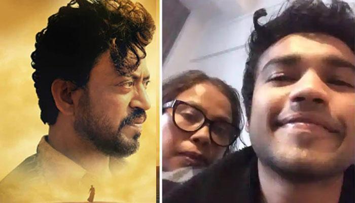عرفان خان کی اہلیہ اور بیٹا بھی اُن کی آخری فلم کیلئے پُرجوش