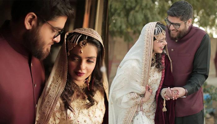 خوبرو اداکارہ صرحا اصغر نے خاموشی سے نکاح کرلیا