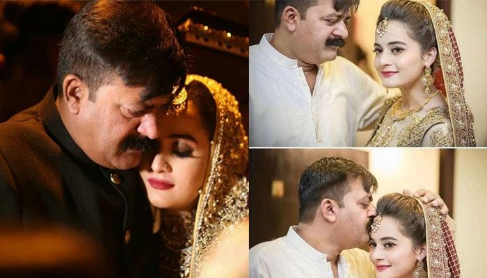 آپ میری پہلی محبت ہیں، ایمن خان کا والد کیلئے جذباتی پیغام