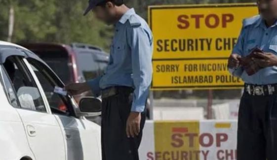 اسلام آباد پولیس کی مشکوک کار پر فائرنگ، ڈرائیور ہلاک