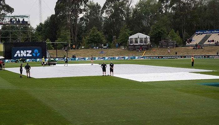 کرائسٹ چرچ ٹیسٹ: تیسرے دن کا کھیل بارش کے باعث روک دیاگیا
