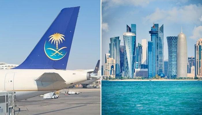 سعودی عرب کا قطر کیلئے پروازیں بحال کرنے کا اعلان