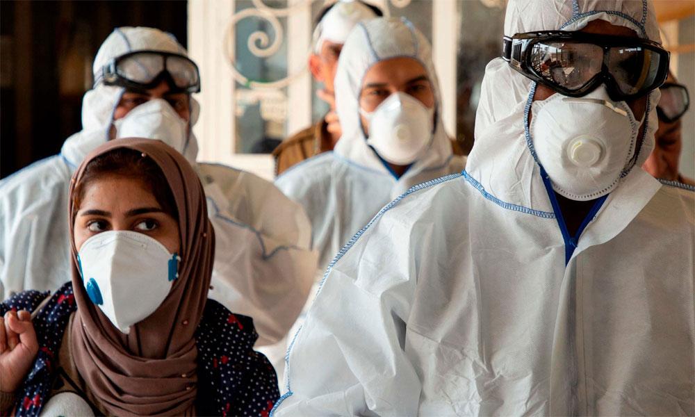 دنیا میں کورونا وائرس کے کیسز 9 کروڑ سے متجاوز
