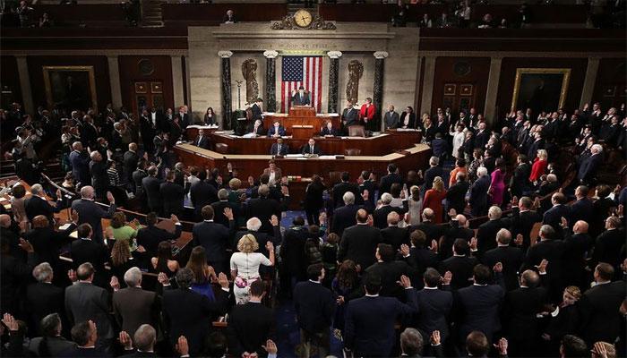 امریکی ایوان نمائندگان کا اجلاس ٹرمپ کے مواخذے کا بل پیش ہونے کے فوری بعد ملتوی