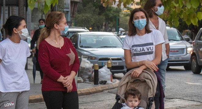 کورونا وائرس کے بڑھتے ہوئے کیسز، لبنان میں ایمرجنسی کے نفاذ کا اعلان