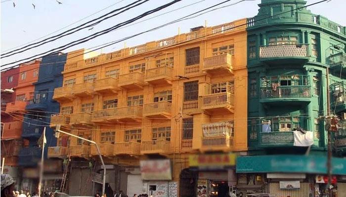 تاریخی عمارت پر رنگ کرنے کی تحقیقات، کمیٹی کا نوٹیفکیشن جاری