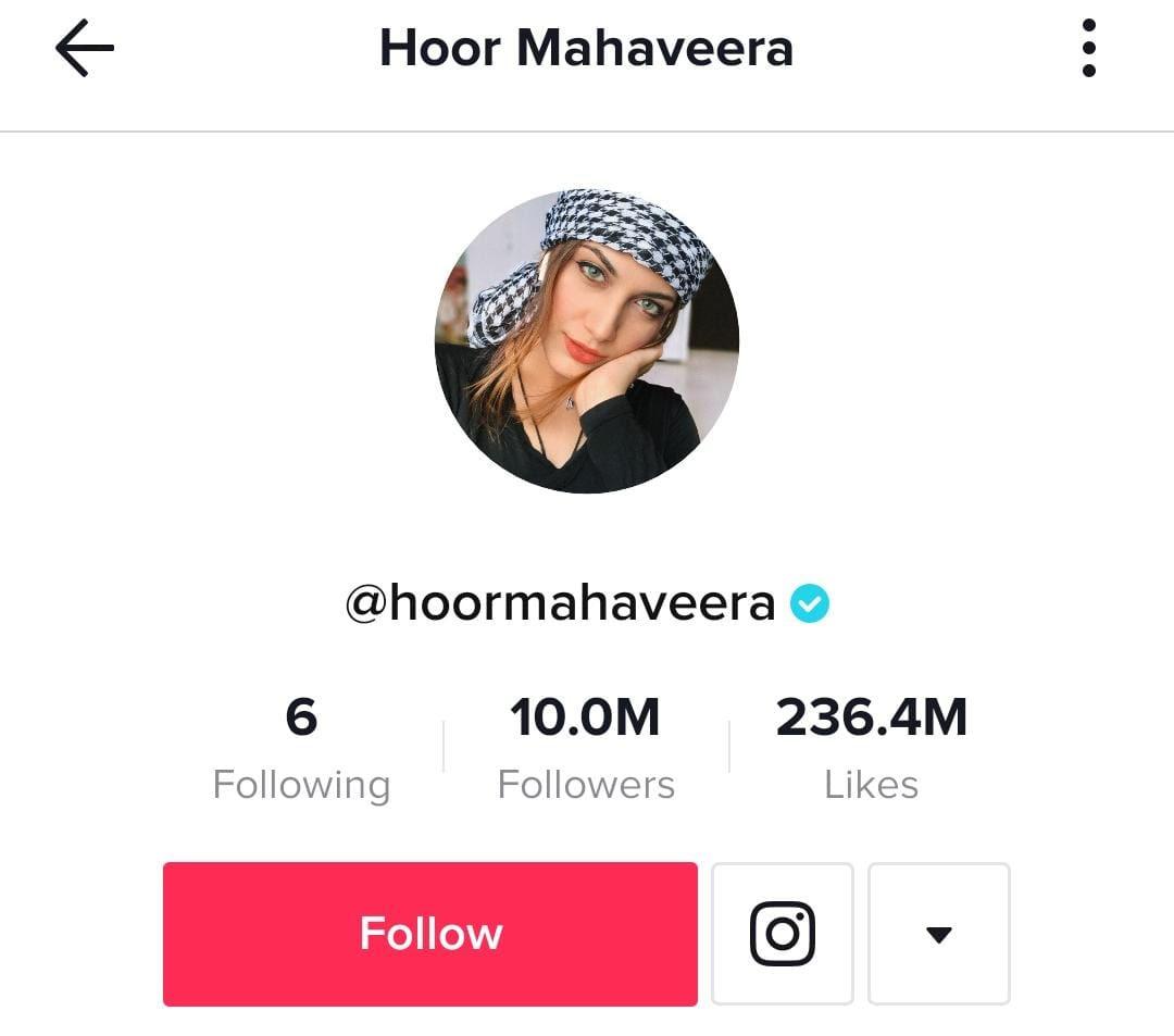ٹک ٹاک پر 10 ملین فالوورز رکھنے والی چوتھی پاکستانی لڑکی کون؟