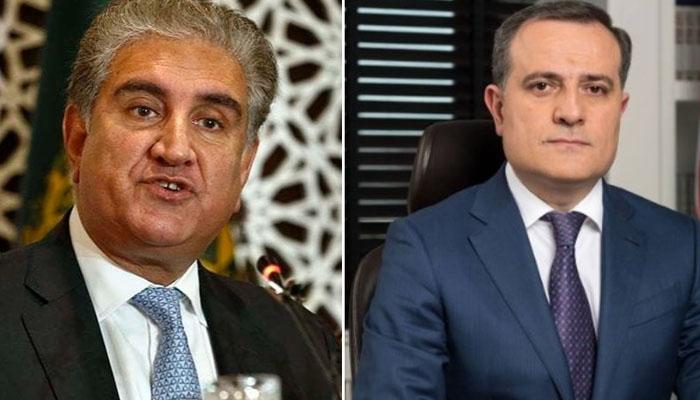 آذربائیجان کے وزیرخارجہ کی شاہ محمود قریشی سے ملاقات