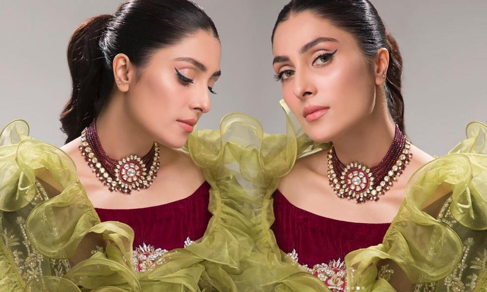 عائزہ خان کی نئی دلکش تصاویر انٹرنیٹ پر مقبول