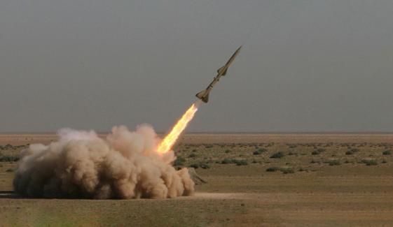 ایران کا بلیسٹک میزائل اور ڈرونز کا تجربہ