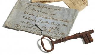 نیپولین کے کمرے کی چابی 82 ہزار پاؤنڈ میں نیلام