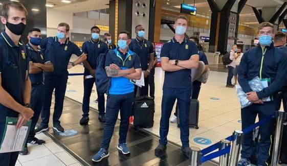 جنوبی افریقا کرکٹ ٹیم کی 14 سال بعد پاکستان آمد: ٹوئٹر پر ٹاپ ٹرینڈ