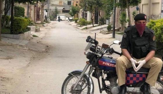 پشاور کے 5 علاقوں میں اسمارٹ لاک ڈاؤن نافذ