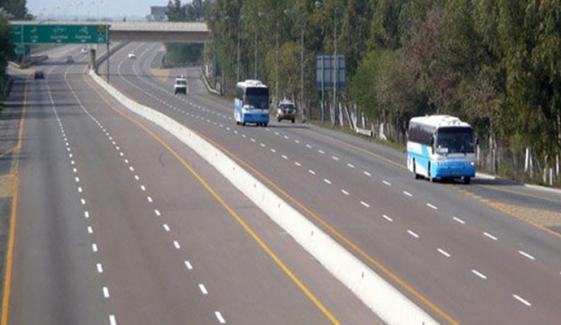 لاہور: موٹروے ایم تھری، ایم فور اور ایم فائیو ٹریفک کیلئے بحال