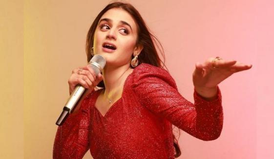 حرا مانی اپنے پہلے گیت کی مقبولیت پر خوش