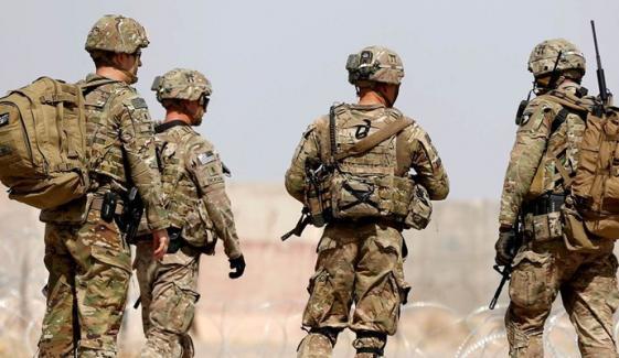 امریکا نے افغانستان میں اپنی فوج کی تعداد مزید کم کردی