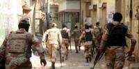 رینجرز کا کراچی میں بڑا آپریشن جاری