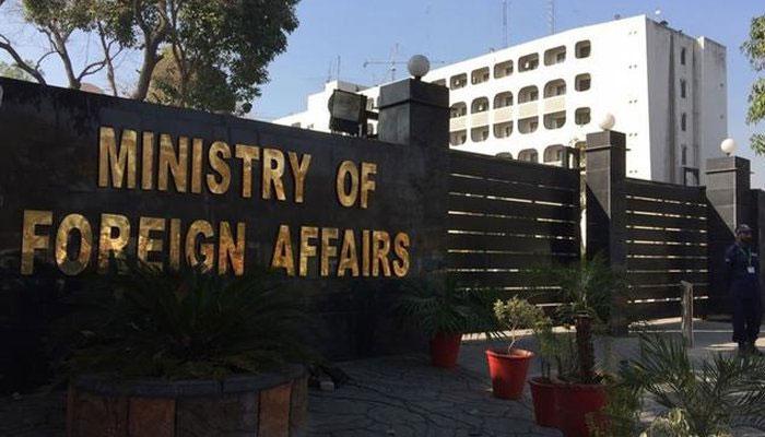 واضح ہوگیا بی جے پی حکومت فالس فلیگ آپریشن کرتی ہے، وزارت خارجہ