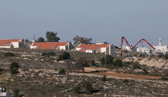 اسرائیل کی مقبوضہ مغربی کنارے میں نئی بستیوں کی منظوری