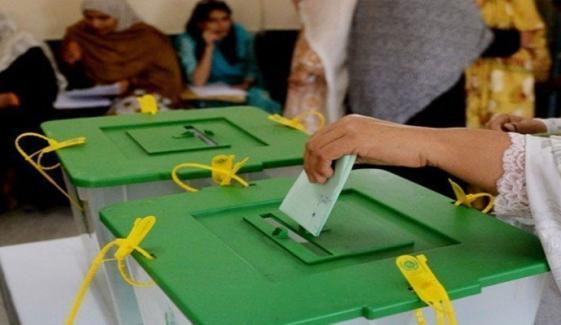پی ایس 52 عمرکوٹ پر ضمنی ا نتخابات کیلئے پولنگ جاری