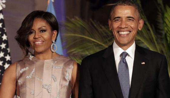 مشل کیساتھ گُزرا ہر لمحہ میرے لیے نعمت ہے: بارک اوباما