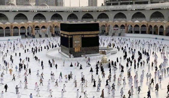 مسجد الحرام آنے والوں کی تعداد 67 لاکھ سے بڑھ گئی