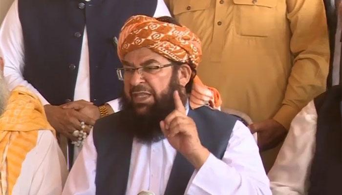 الیکشن کمیشن کا انصاف پرمبنی فیصلہ کیوں نہیں آ رہا: مولانا عبدالغفور حیدری