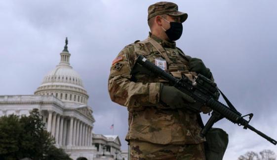 واشنگٹن کا ریڈزون فوجی چھاؤنی میں تبدیل