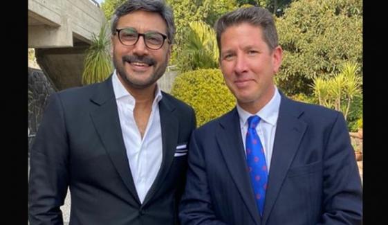عدنان صدیقی کی برطانوی ہائی کمیشنر سے ملاقات
