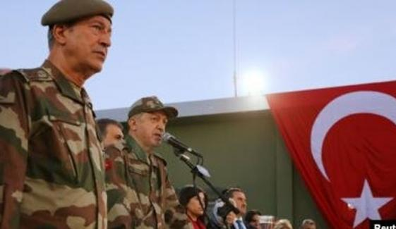 ترکی، اعلیٰ فوجی افسران سمیت  238 افراد کی گرفتاری کا حکم