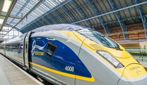 یورپ اور برطانیہ کے درمیان چلنے والی ٹرین کا بینک کرپٹ ہونے کا خدشہ