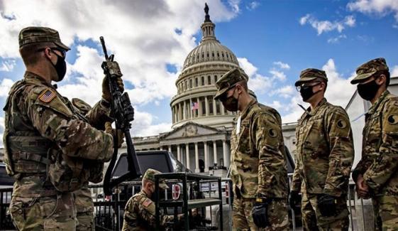 بائیڈن کی تقریب حلف برداری، واشنگٹن میں سیکیورٹی کے غیر معمولی انتظامات