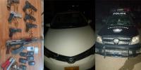 کراچی: وائٹ کرولا گینگ کے 7 ملزمان گرفتار