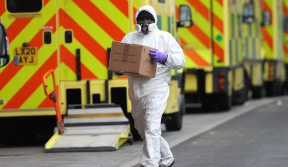 برطانیہ، ایک دن میں کورونا سے 1ہزار 610 اموات