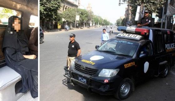 قتل کے الزام میں گرفتار ملازمہ پولیس موبائل سے فرار