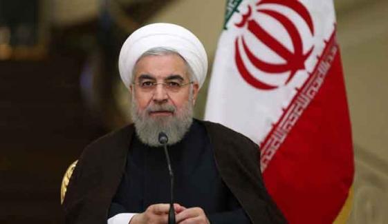 ٹرمپ کی ایران مخالف پالیسی مکمل ناکام ہوئی، صدر روحانی